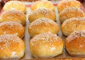 homemade buns thanks to Kathy